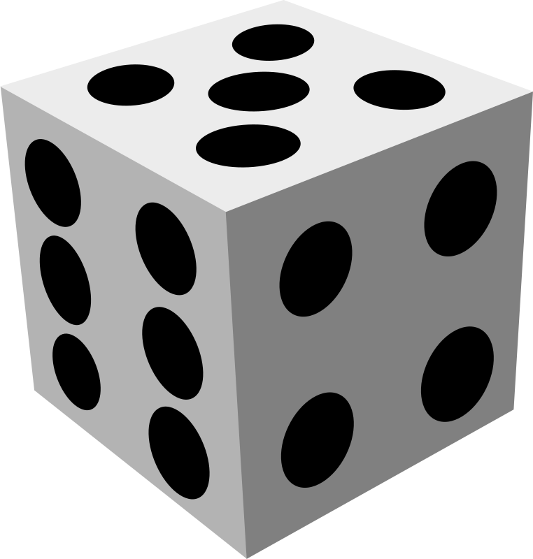 dice by badaman - A draw of a dice