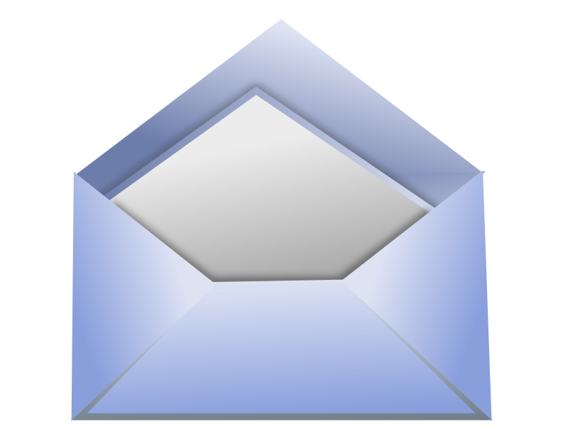 Envelope by baroquon - Envelope done in inkscape as a contact icon for a website I am working on.