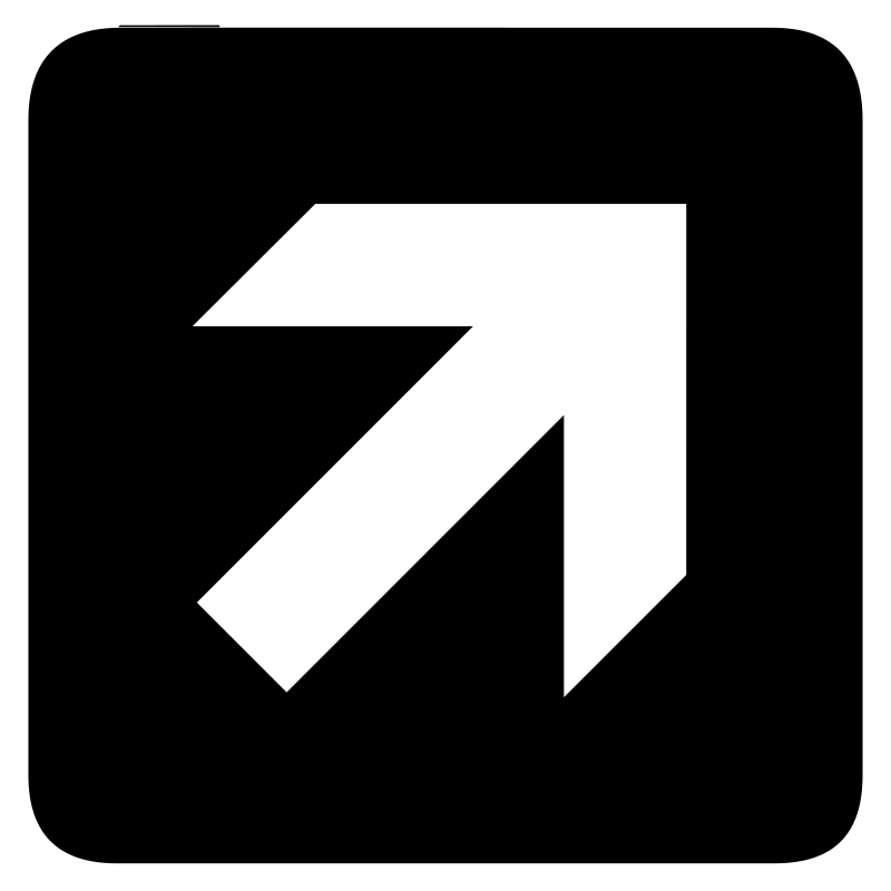 aiga forward and right arow bg by jean_victor_balin - Set of international airport symbols. Source: http://www.aiga.org/content.cfm/symbol-signs Converted to SVG by Jean-Victor Balin.