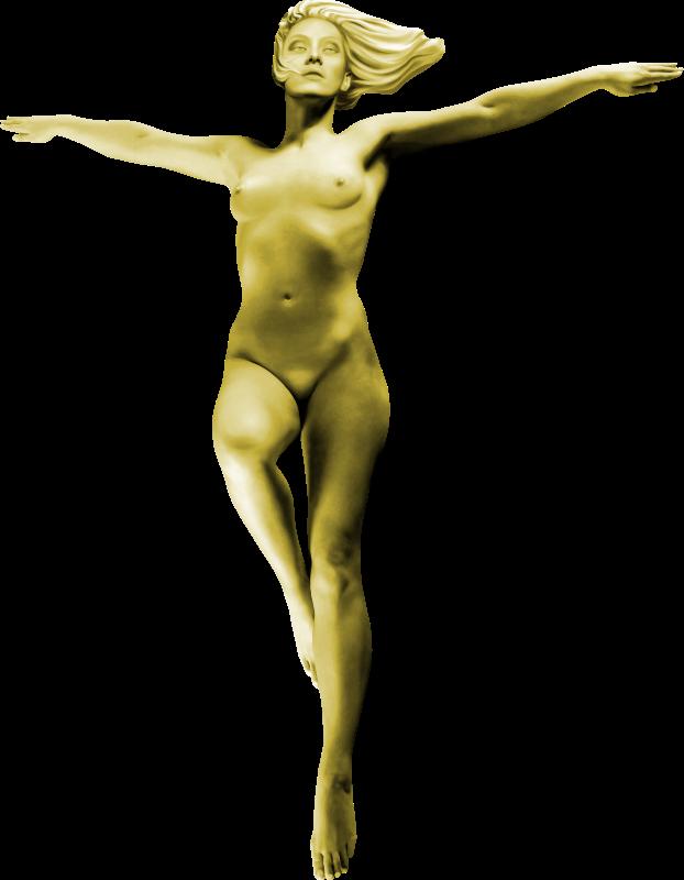 clipart   woman statue