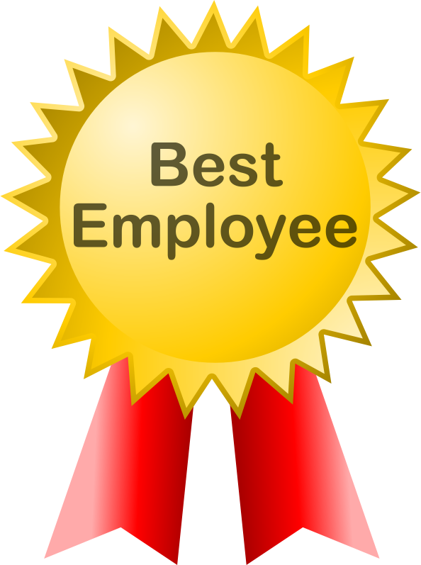 Clipart - Best Employee (marlinsons)