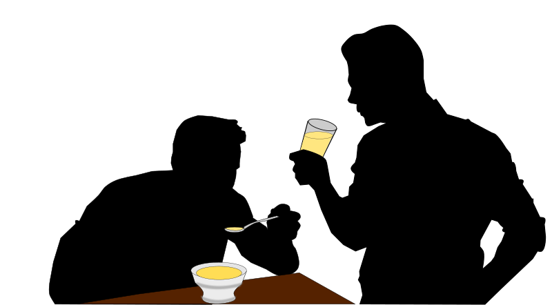 Clipart - Eating and Drinking