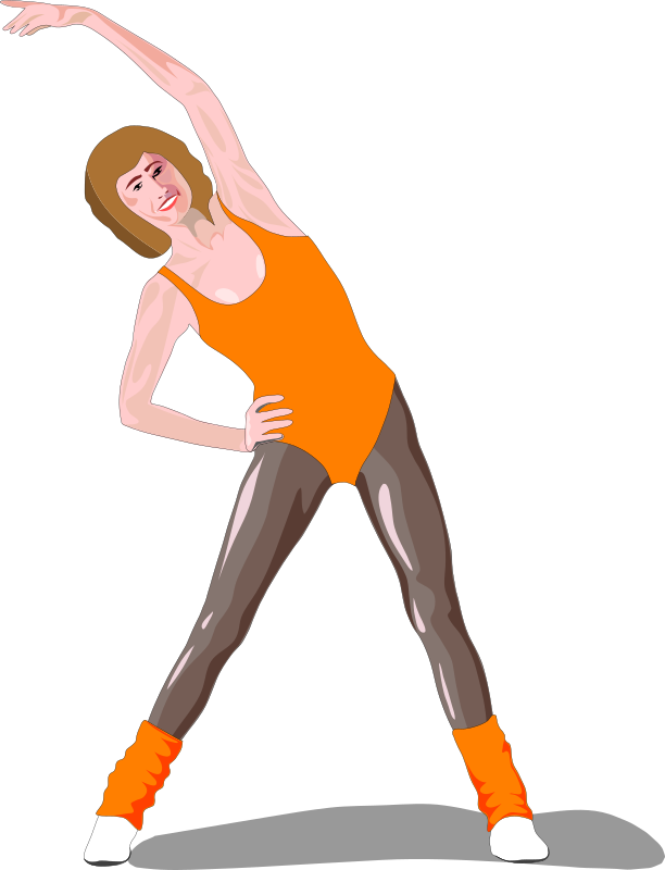 Architetto -- Fitness by francesco_rollandin - Woman in aerobics outfit by Francesco Rollandin. From OCAL 0.18 release.