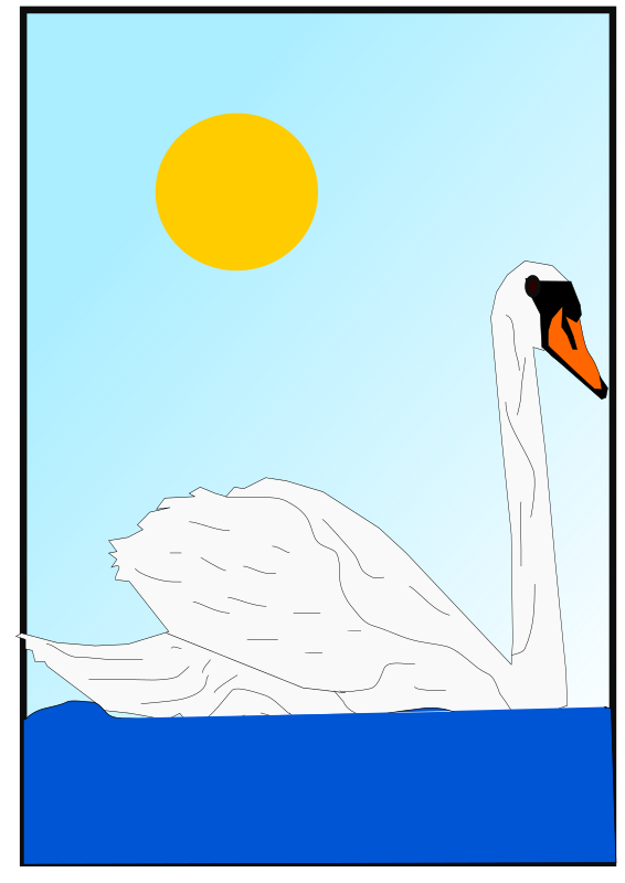 swan by Machovka