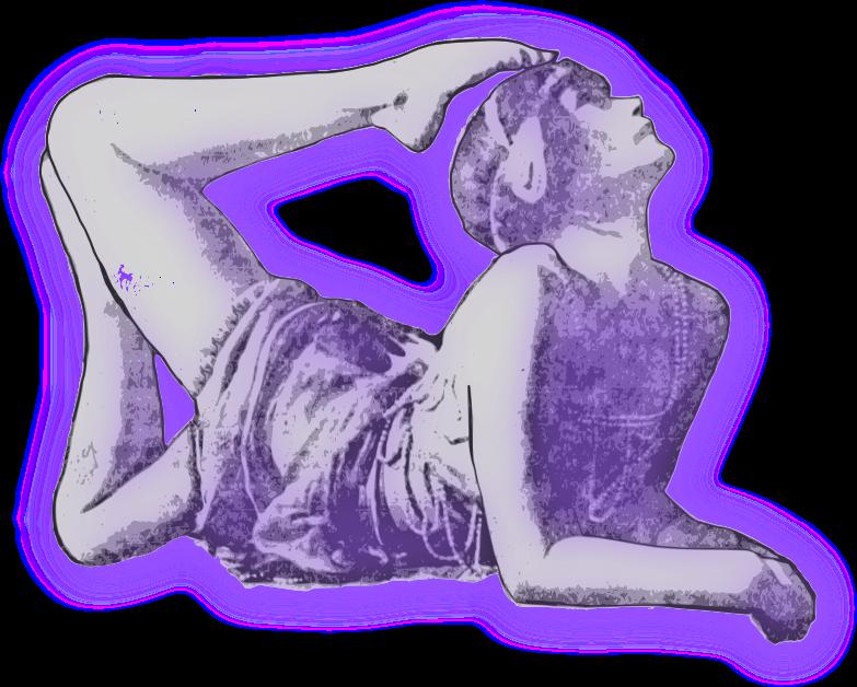 Clipart - Flexible Lady