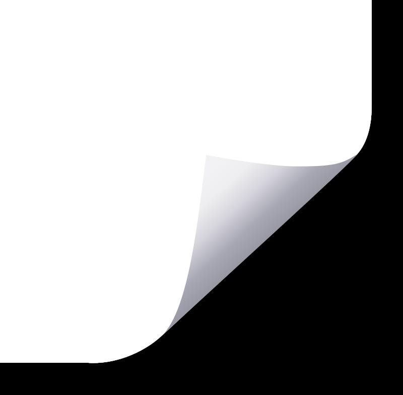Clipart Paper Corner