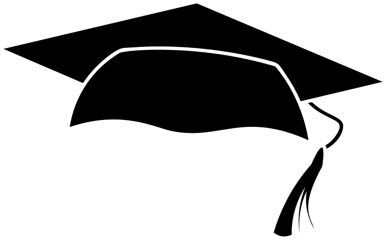 clipart graduation cap icon
