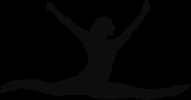 Clipart Female Performer Silhouette Minus Cloth