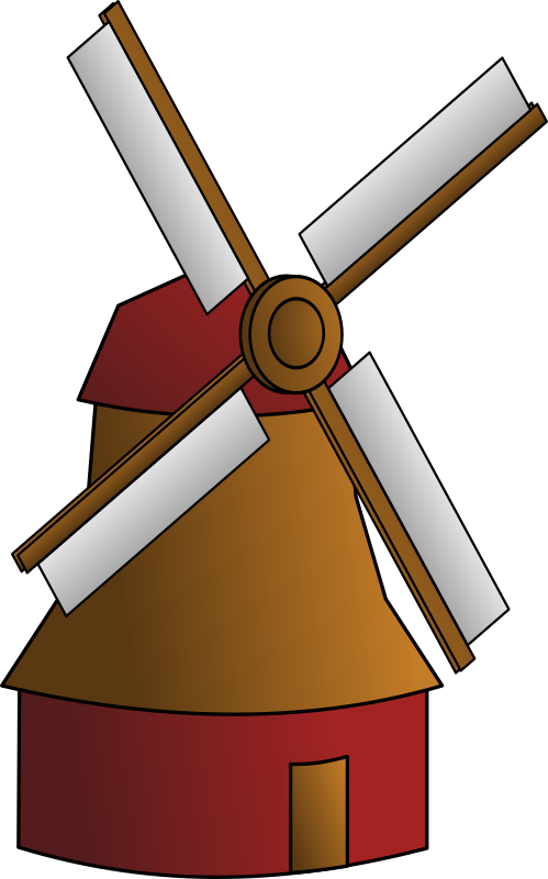 windmill by egore911 - A wind mill.