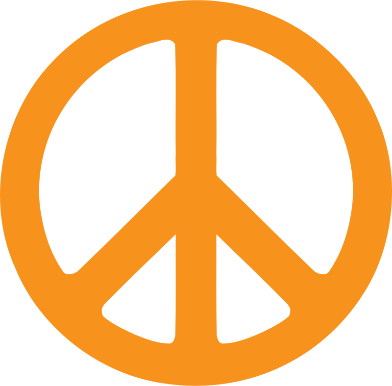 peace symbol by flowerpaz