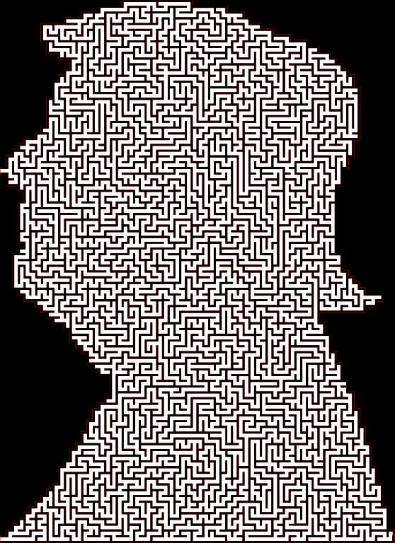 Clipart - Trump Maze