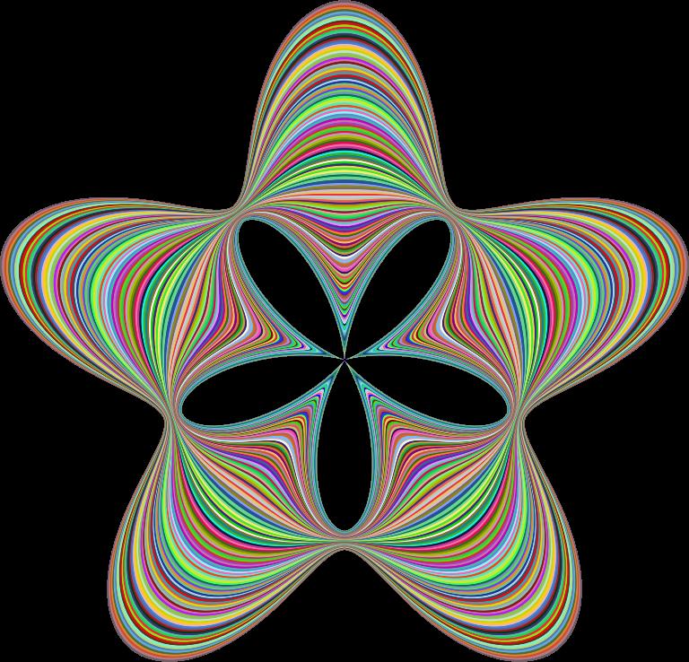 clipart prismatic waves star clip art rainbow pictures clip art rainbow 58271