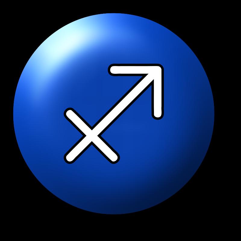 Clipart - Sagittarius symbol 3