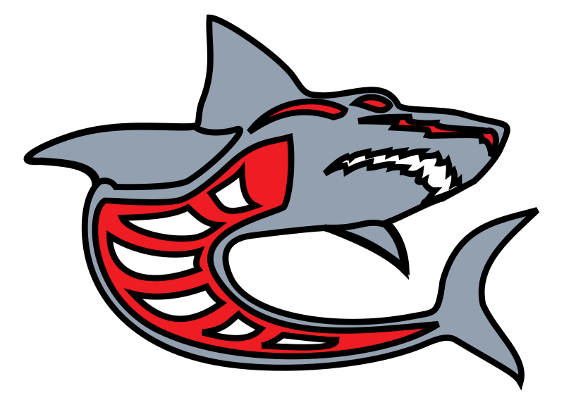 shark_grey_red_by_ashed by ashed - grey-red stylized shark