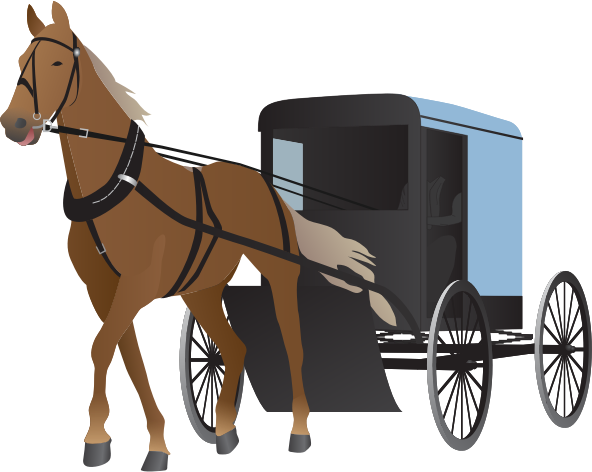 clipart amish buggy and horse rh openclipart org amish horse and buggy clipart amish horse and buggy clipart