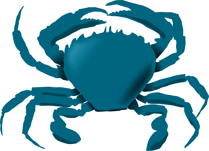 Blue Crab by annaleeblysse - My nephew's idea. He likes blue crabs.