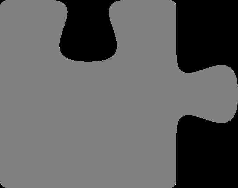 Clipart Puzzle Piece 1