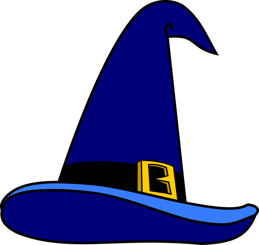 Wizard's Hat by secretlondon - A blue hat, suitable for a wizard.