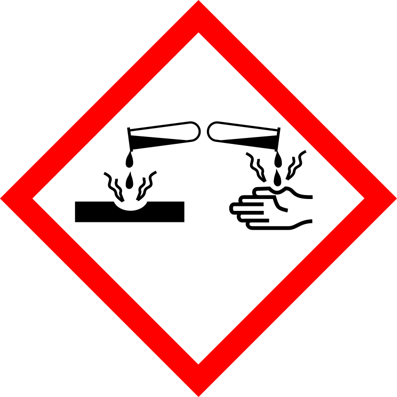 clipart   corrosive substances   sustancia corrosiva