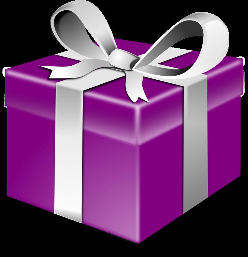 Purple present by secretlondon - A purple present.