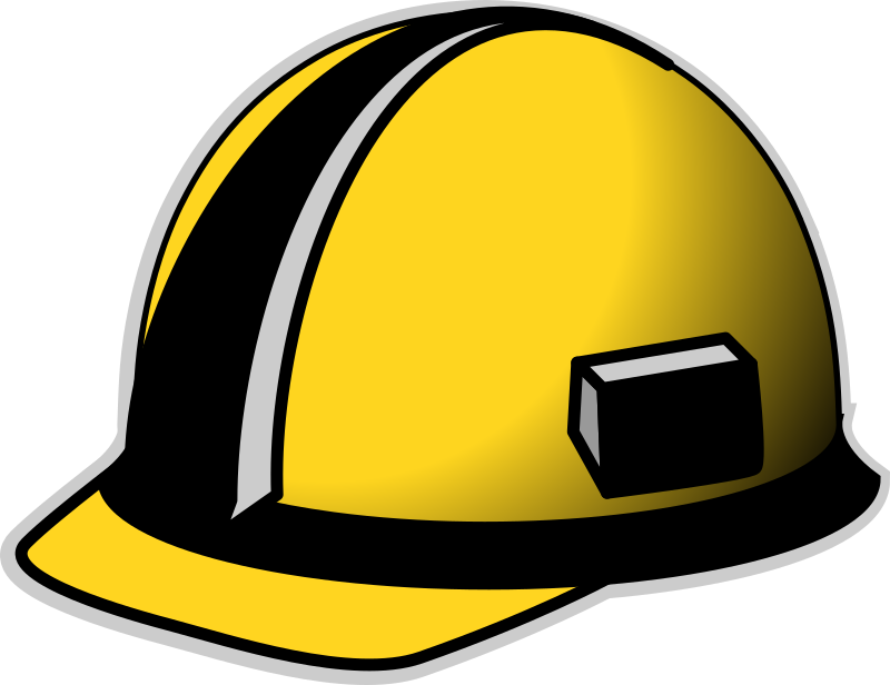 Hard Hat by secretlondon - A yellow hard hat.
