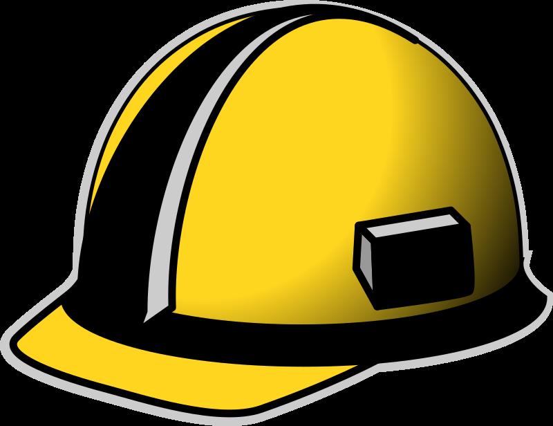 yellow hard hat clipart - photo #21