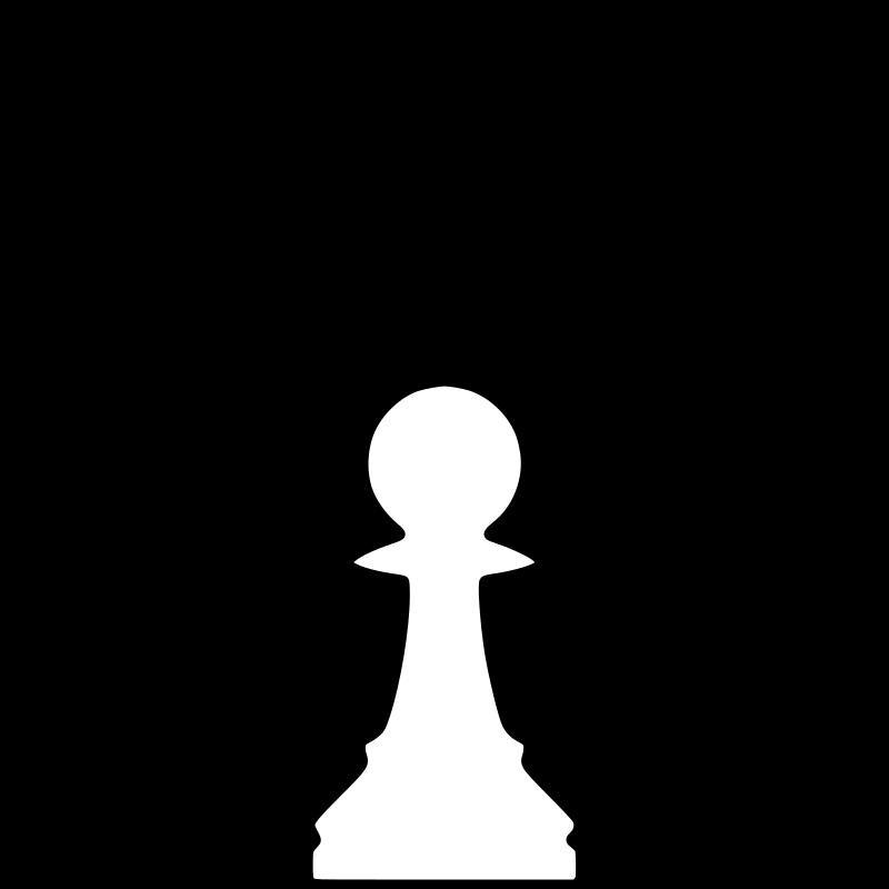 clipart white silhouette chess piece remix pawn   pe u00f3n Office Clip Art Microsoft Office Free Clip Art
