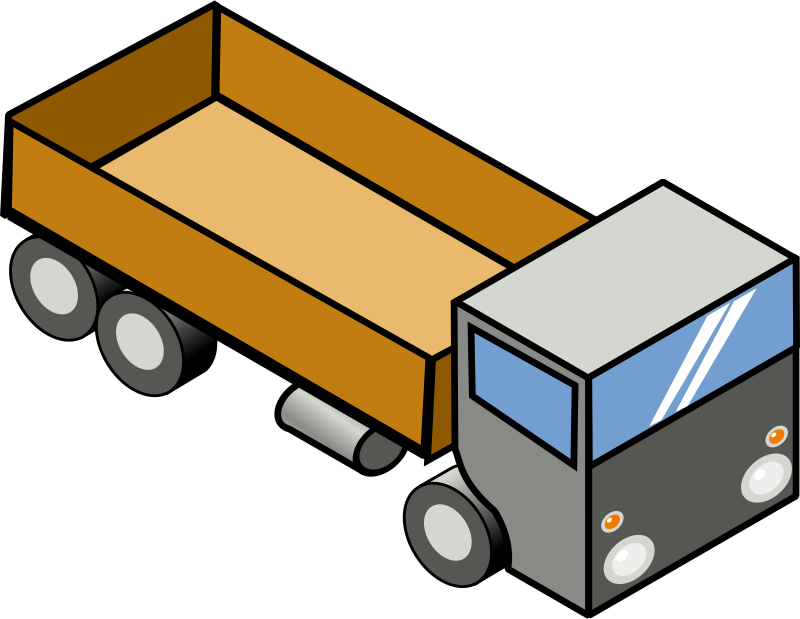 Iso Truck 4 by secretlondon - An isometric truck.