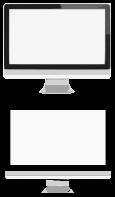 clipart monitors