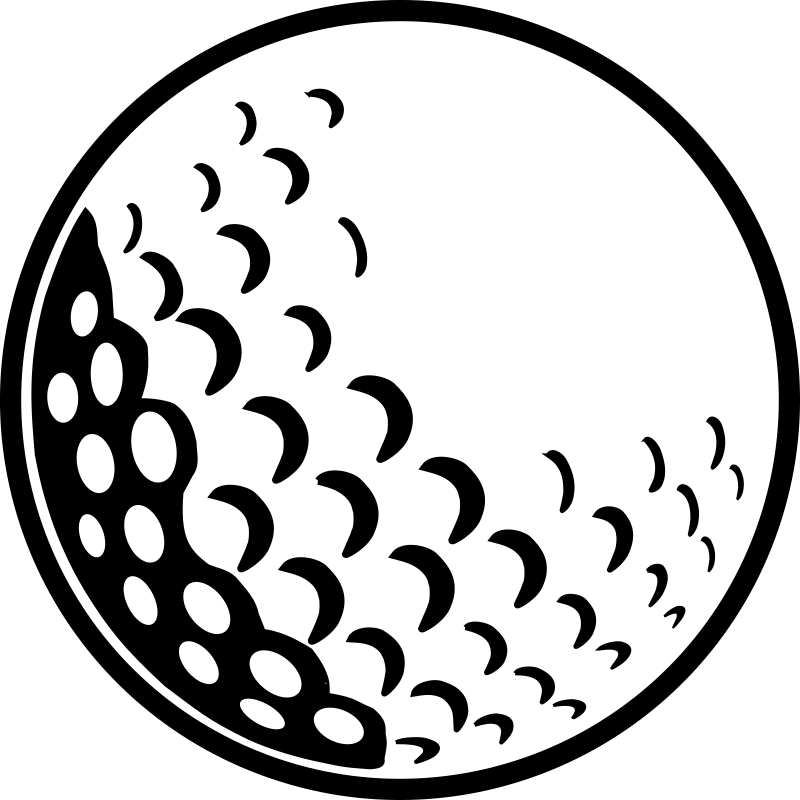 Clipart - Golf Ball
