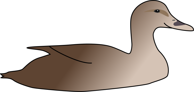 Duck by sutrannu - A very simple duck.