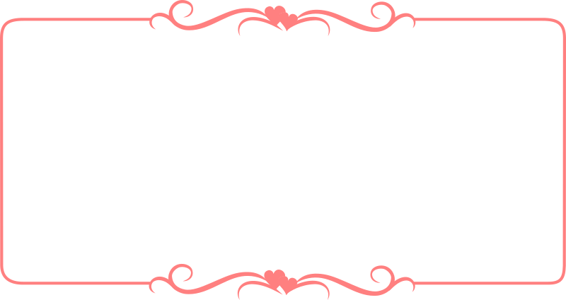 Hearts Border Template by buggi