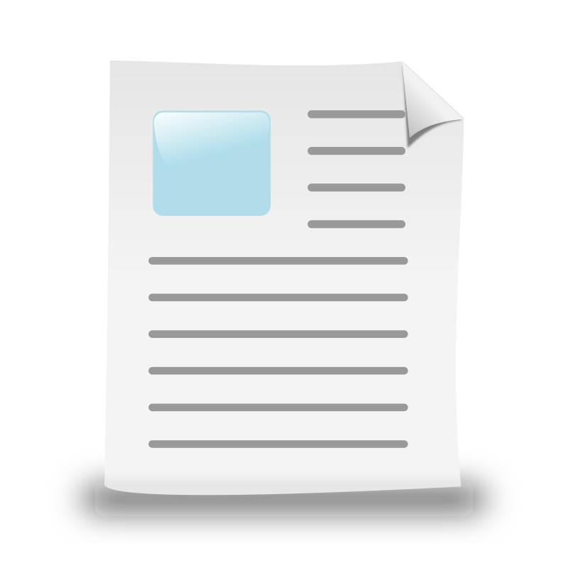 New Document by ronoaldo - A simple New Document icon.