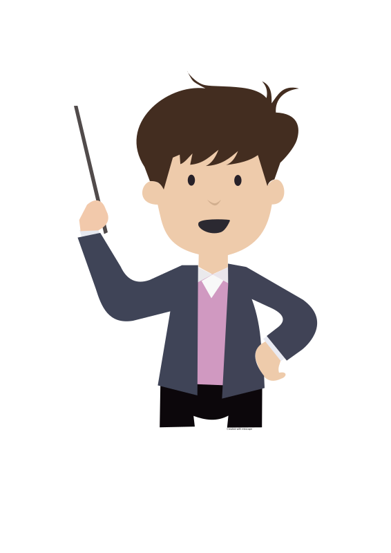 Clipart - boy-teaching.svg