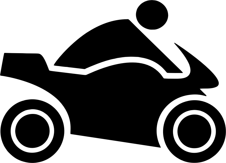 Clipart Motorbike Icon