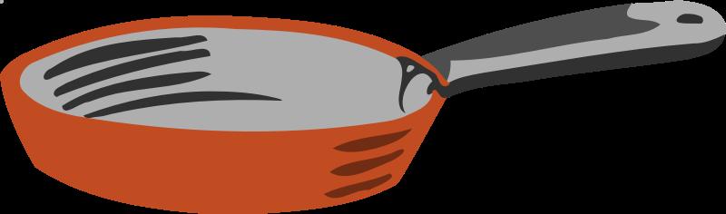 Clipart - Frying pan