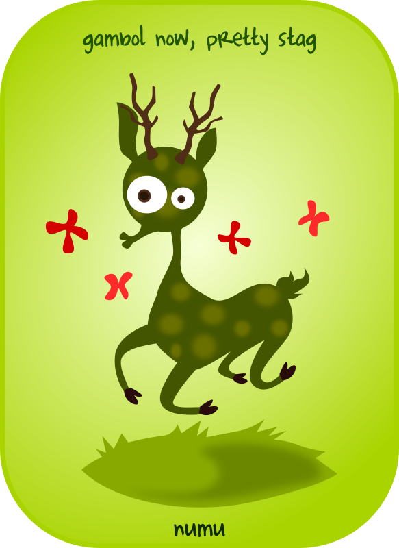 numu07_stag by kablam - From the numu series of opensource clipart from www.pencilsauce.com. Created using Inkscape from Inkscape.org