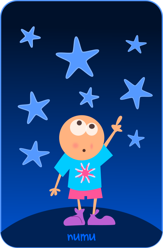 numu09_stars by kablam - From the numu series of public domain clipart from pencilsauce.com. Created using Inkscape from inkscape.org