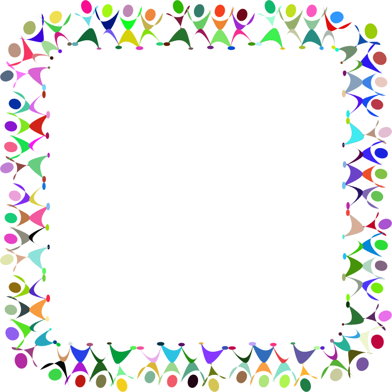 clipart dancing people square prismatic Dance Clip Art Happy People Clip Art