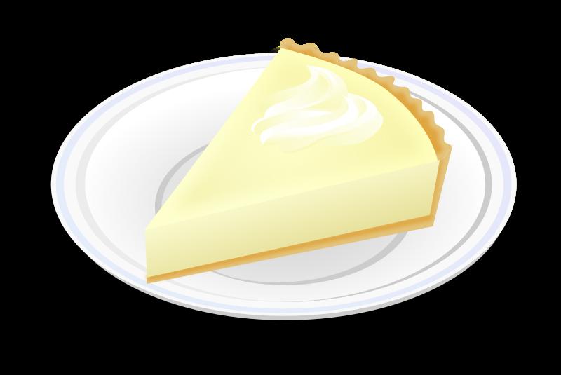 Clipart - Cheesecake