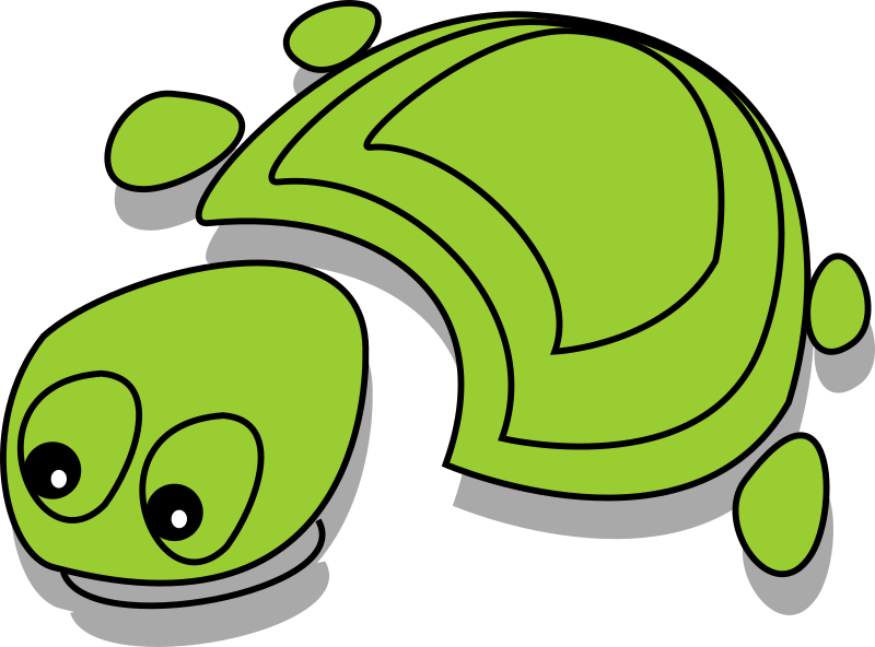 Green Tortoise (cartoon) by arking - Green Tortoise