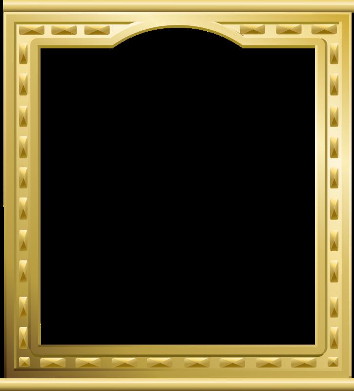 clipart golden frame