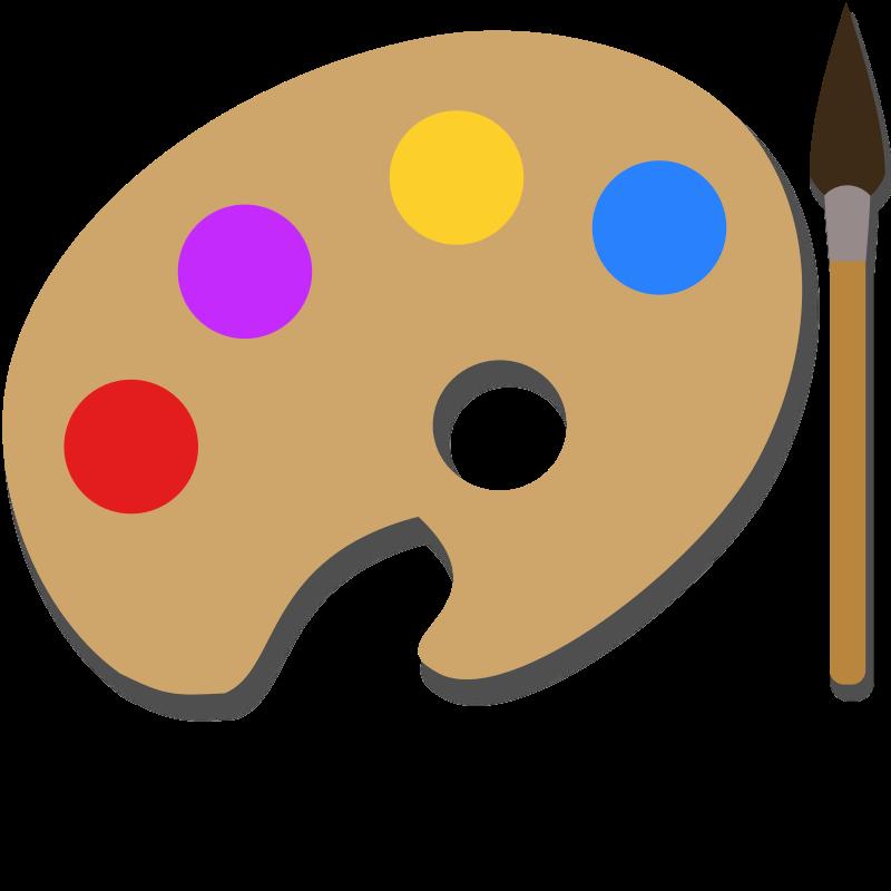 paint palette clip art - photo #20