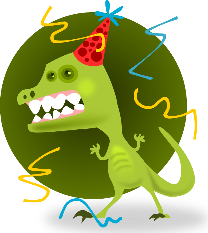 Party Animal by kablam - Party Animal. By pencilsauce.com. Created using Inkscape from inkscape.org