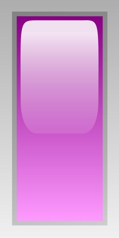 led rectangular v purple by jean_victor_balin - Purple glossy rectangle by Jean-Victor Balin. From OCAL 0.18 release.