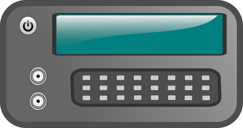 Function Generator by mothinator - A stylized depiction of a function generator.