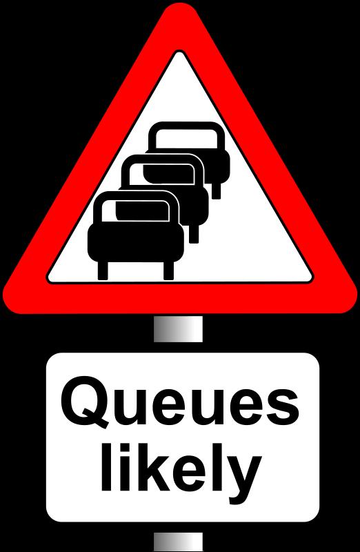 Traffic jam graphic