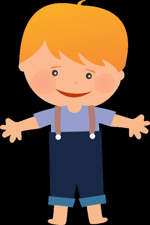Clipart - Cartoon Child