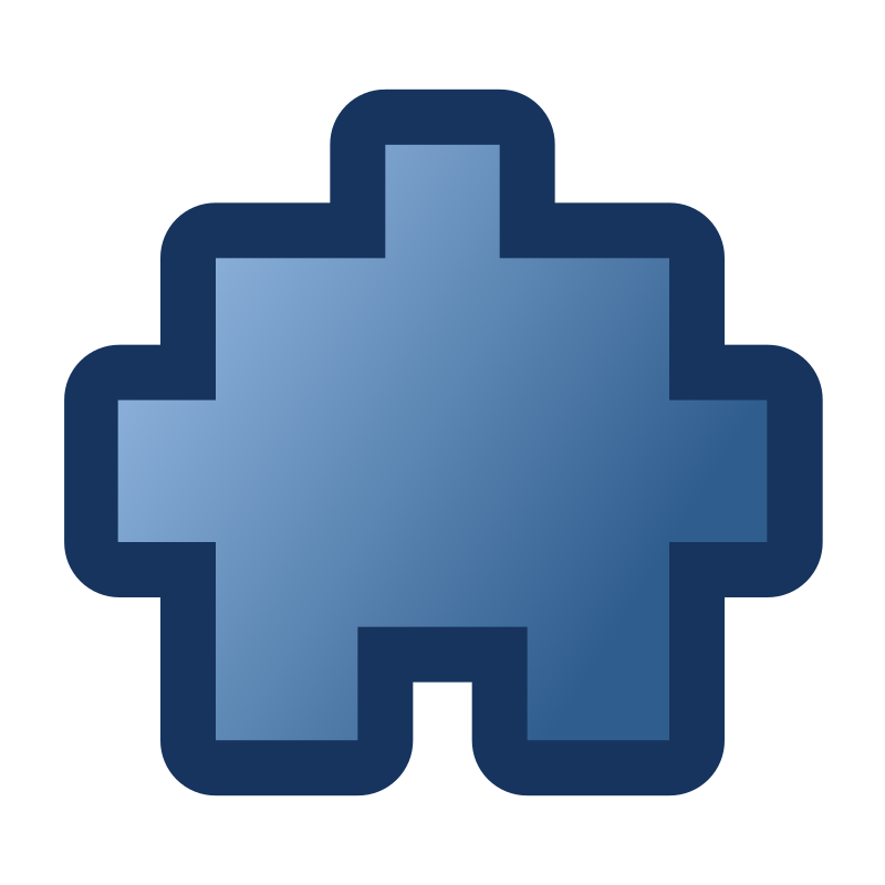 icon_puzzle2_blue by jean_victor_balin -