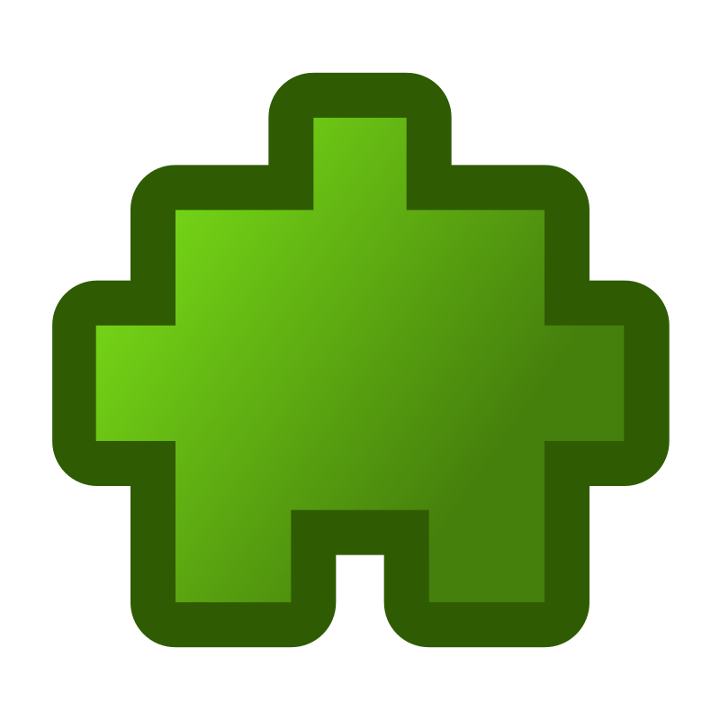 icon_puzzle2_green by jean_victor_balin